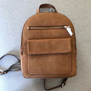 GAP Suede Backpack - NWT